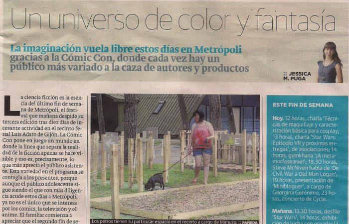 EL COMERCIO. Un universo de color